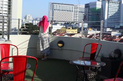 Rooftop Central 65 Hostel Singapura