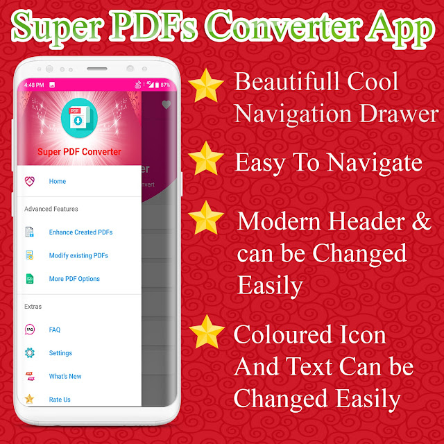 Super PDF Converter Android App - Professional PDF Editor And Creator Ready - 4