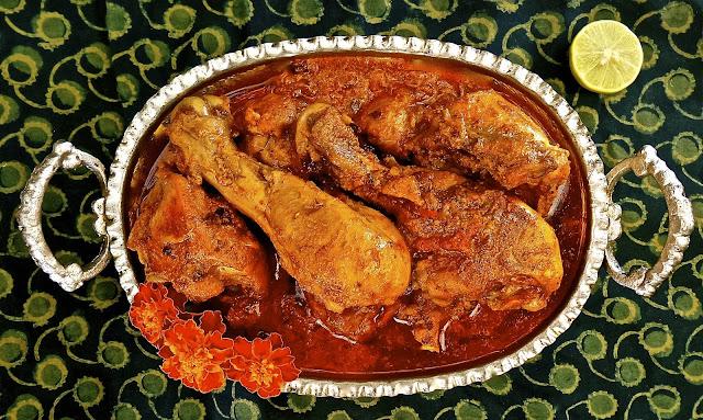 Malabar Style Chicken Curry
