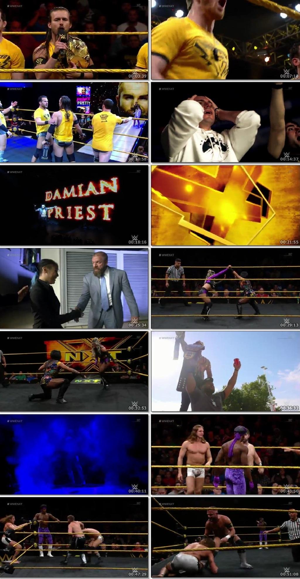 Screen Shot Of WWE NXT 19th June 2019 HDTV 480P 300MB