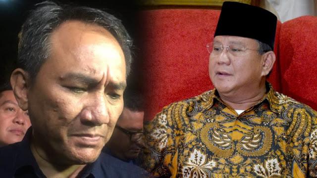 Andi Arief: Prabowo Agak Kurang Serius Mau Jadi Presiden