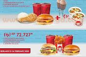 Wendys Promo Paket Two Be One Periode 12 - 16 Februari 2020