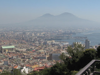 The Vomero hill offers spectacular views over Naples