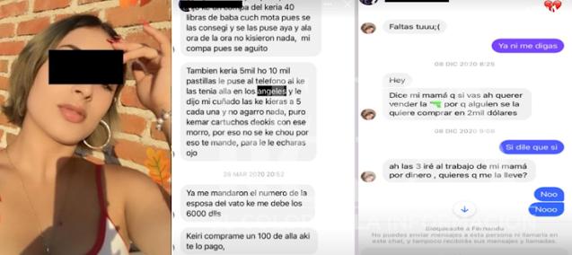 A Kathy la descuartizaron en Tijuana un día después de que encontraron su cuerpo comenzaron a publicar en su Facebook conversaciones y fotos intimadas