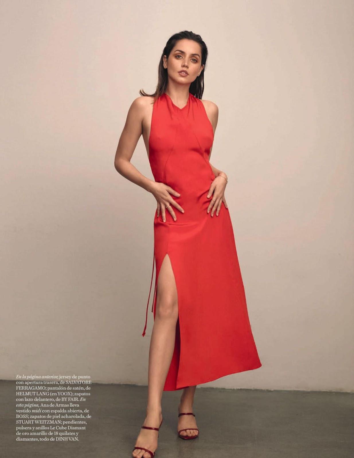 Ana De Armas - Vogue Spain April 2020 Issue
