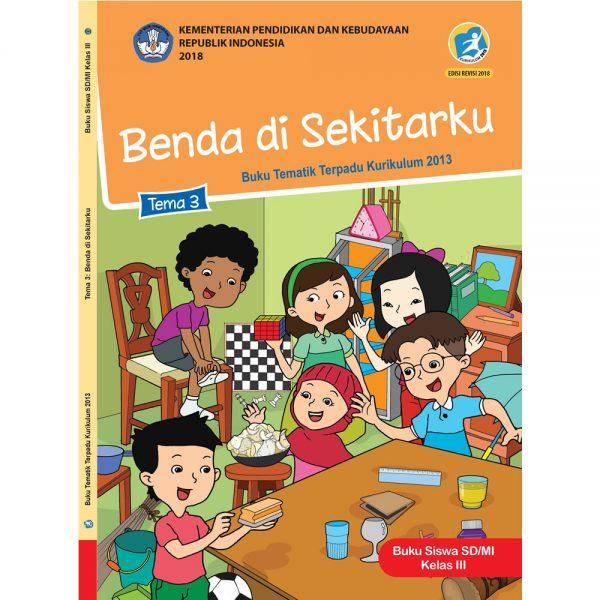 Download pola RPP Kelas 3 Semester 1 Tema 3 Kurikulum 2013 Revisi 2018 Subtema 1 2 3 4 Pembelajaran 1 2 3 4 5 6