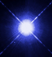Sirius - the brightest star in the Earth's night sky