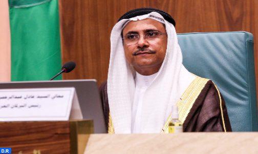رئيس البرلمان العربي يؤكد وقوفه مع المملكة المغربية في كل ما تتخذه من خطوات لحماية ووحدة أراضيها