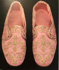 A Liturgical Rarity: Rose Pontifical Sandals