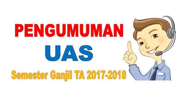 Pengumuman UAS Keperawatan Semester Ganjil Tahun Akademik 2017-2018