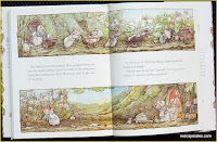 Brambly Hedge Dusty heading to work