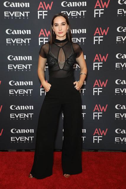 Darcie Irwin-Simpson at 2021 Australian Woman's Film Festival Launch