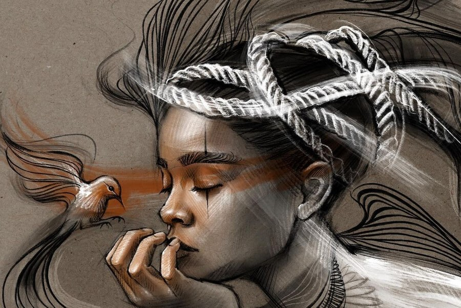 02-Digital-Art-Portraits-Petra-Strasser-www-designstack-co