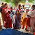 पोषण माह के तहत गर्भवती महिलाओं के गोदभराई कार्यक्रम में पोषण व स्वास्थ्य संबंधी दी गई जानकारी