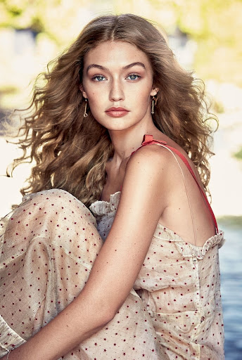 Gigi Hadid topless model photo shoot for allure magazine