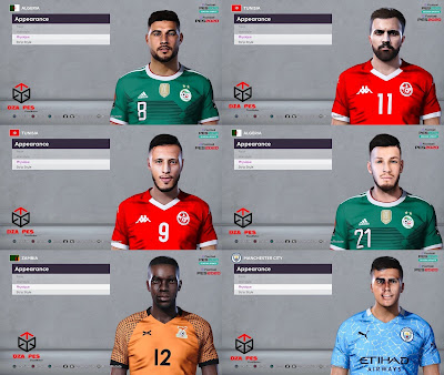 PES 2020 Facepack 6 by Dzayer Pes