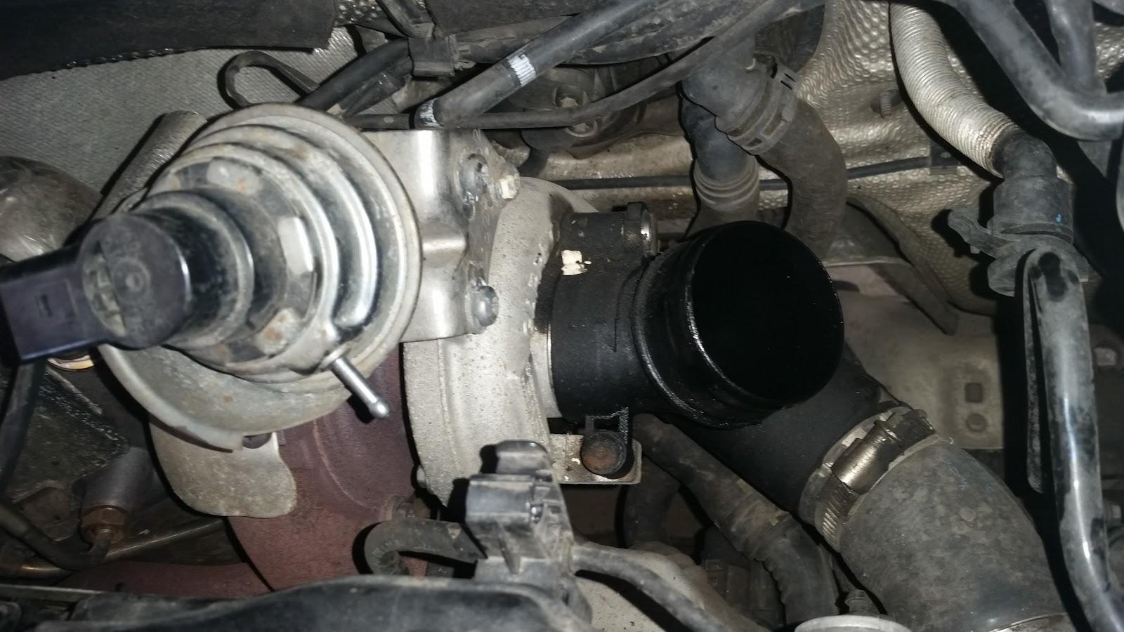 ECUFix Blog: VW Golf 1 6 TDI CR - CAY Engine Turbo Problem