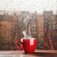 صورة فنجان قهوة فى الشتاء