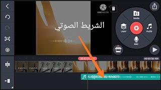 تغيير موضع الصوت علي الفيديو
