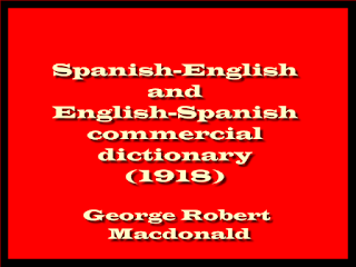 Spanish-English and English-Spanish commercial dictionary