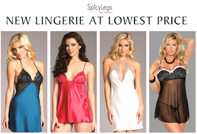New Babydoll Lingerie Collection at SpicyLegs.com