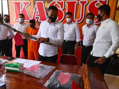 Pembunuhan di Kampung Cipacung Diringkus Polres Serang Kota