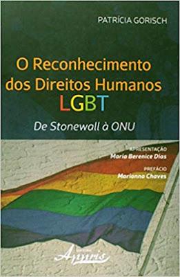 Livro online: Reconhecimento dos Direitos Humanos LGBT. De Stonewall à Onu (Português) Capa Comum