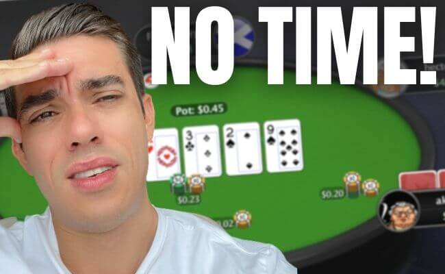 How to Play Poker When You Don't Have The Time