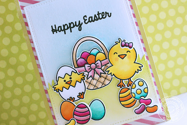 Sunny Studio Stamps: A Good Egg Happy Easter Card by Eloise Blue