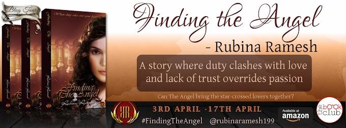 Blog Tour: Finding The Angel by Rubina Ramesh