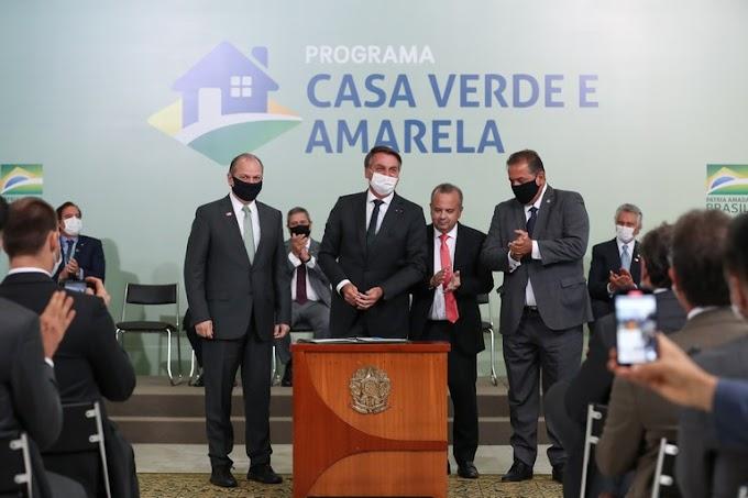Casa Verde e Amarela | Governo Federal lança novo programa habitacional para atender famílias de baixa renda