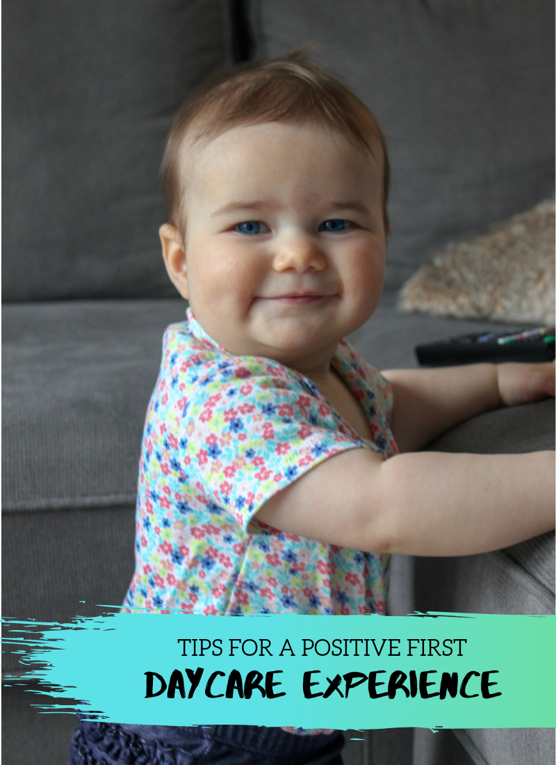 Tips for a Positive First Daycare Experience
