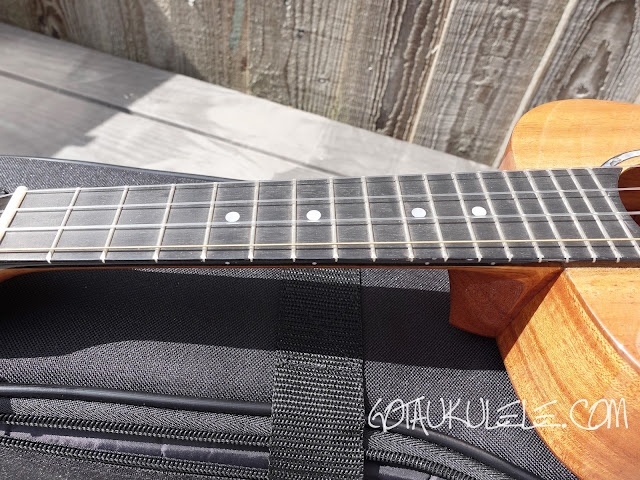 Romero Creations S-M Signature Soprano Ukulele neck