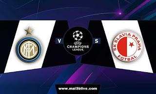 مشاهدة مباراة انتر ميلان وسلافيا براغ اليوم 17-9-2019 في دوري أبطال أوروبا