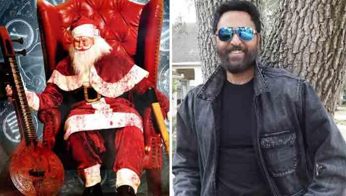 Kochi, News, Kerala, Top-Headlines, Actor, Cinema, Entertainment, 'Santa Maria' first look title poster released; Babu Antony arrives as the hero
