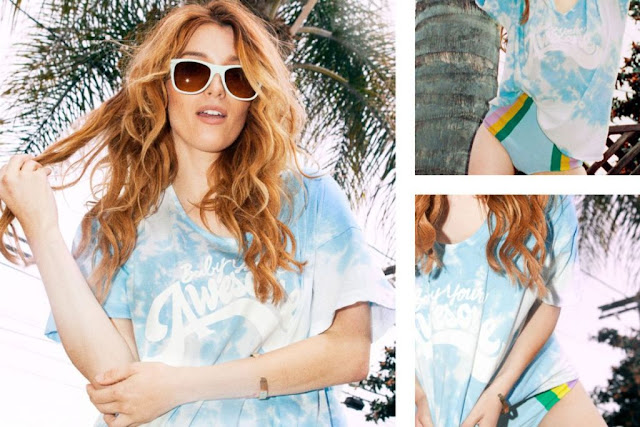 Petals and Peacocks Summer 2015 Lookbook featuring Dani Thorne