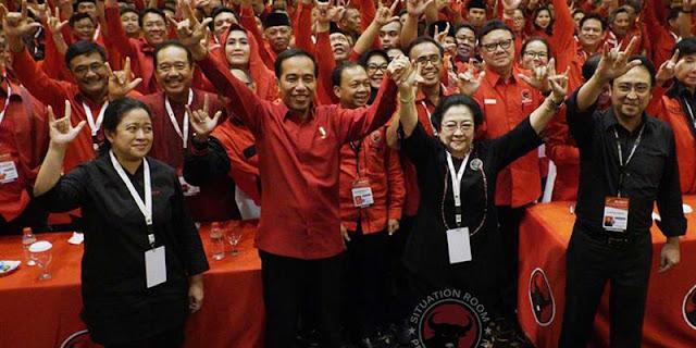 Kalau Tiga Periode, Jokowi Mudah Rebut Kursi Ketum PDIP