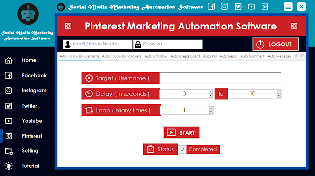 Pinterest Marketing Automation Software