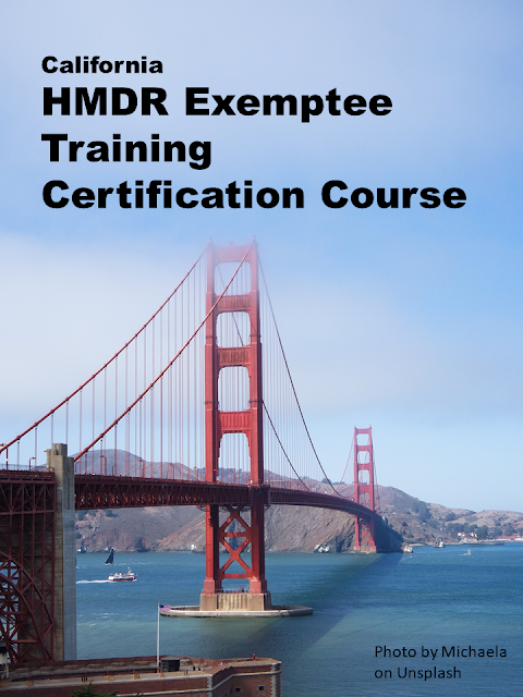 This training course meets application requirements for anyone applying for an Exemptee License through the California Department of Public Health.