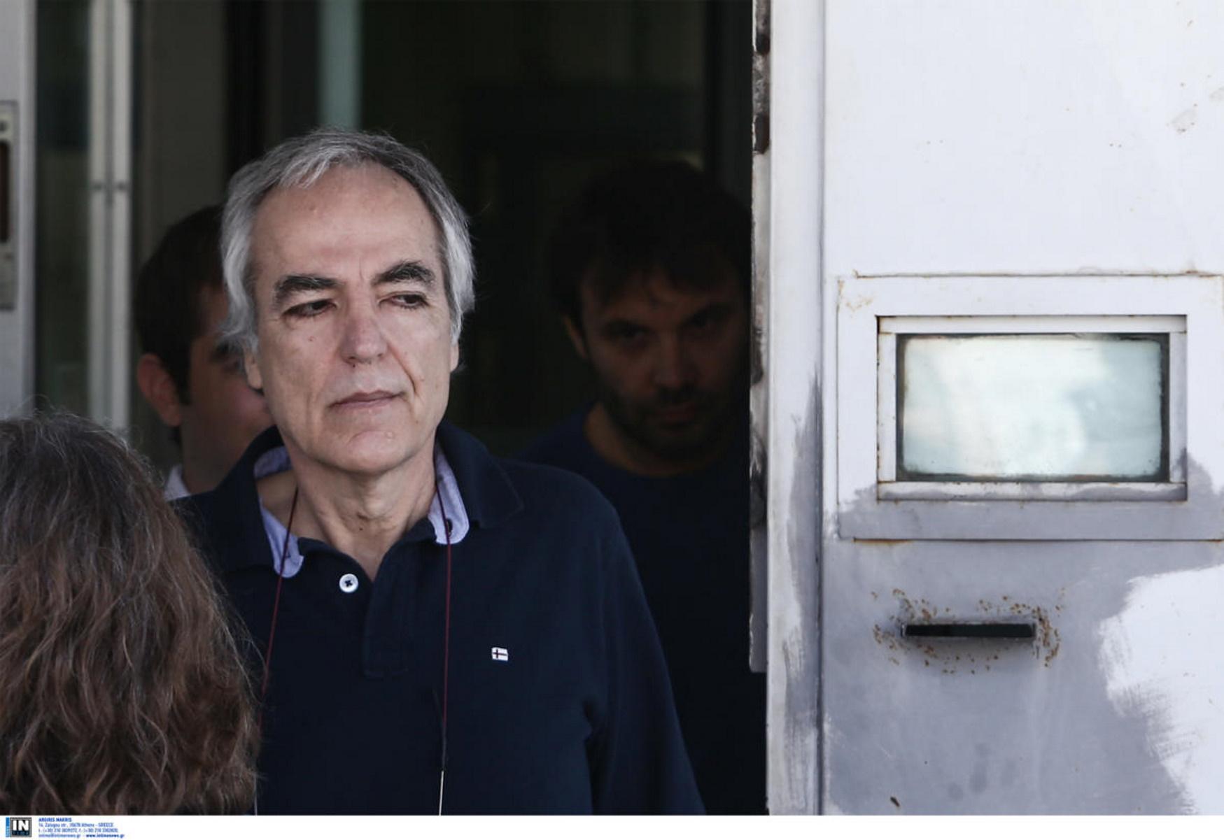 Στην Εντατική ο Δημήτρης Κουφοντίνας μετά από 40 μέρες απεργίας πείνας