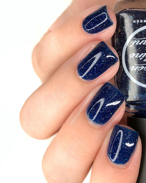 Moon Shine Mani A Starry Night Is Born 25 Sweetpeas