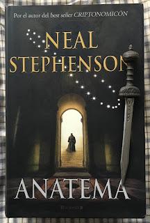 Portada del libro Anatema, de Neil Stephenson