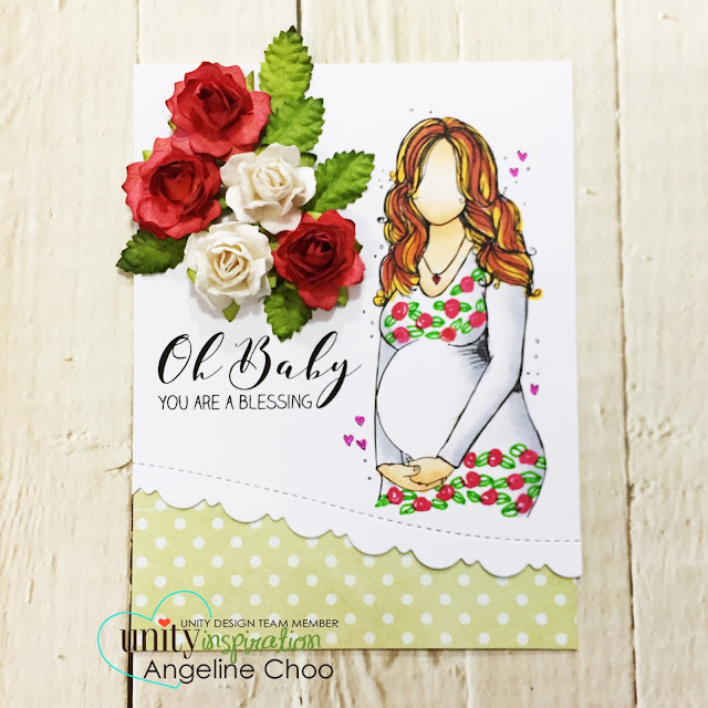 ScrappyScrappy: [NEW VIDEO] Cyber Monday with Unity Stamp #scrappyscrappy #unitystampco #card #cardmaking #papercraft #stamp #stamping #quicktipvideo #youtube #video #katscrappiness #katscrappinessdie #paperflowers #babycard #pregnantcard #copicmarkers #mothertobe #borderdie