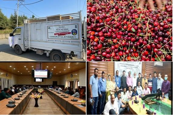 Agri export activities pick up in UTs of Jammu & Kashmir and Ladakh