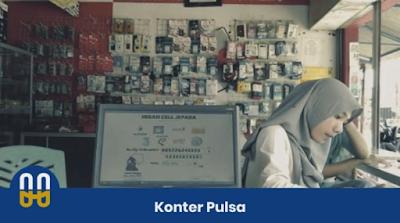 Counter pulsa