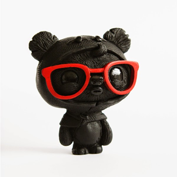 Popcon Asia 2014 Exclusive Black & Red GeekWok Star Wars Resin Figure by UME Toys