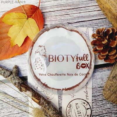 Unboxing - Biotyfull Box de Novembre 2020 : COCOoning