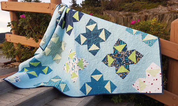 Night Sky quilt | DevotedQuilter.com