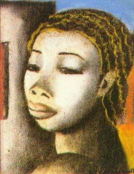 Cabeça de Mulata - Di Cavalcante e suas principais pinturas ~ Pintando a realidade brasileira