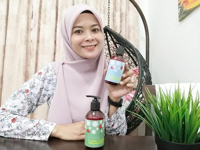 PUREMae Aromatherapy Shampoo dan Conditioner Kurangkan Keguguran Rambut